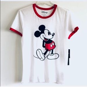 DISNEY TEES.  NEW W TAG.  SIZE M.